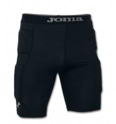 Pantalon corto futbol protec portero negro