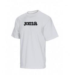 Camiseta algodon futbol blanco