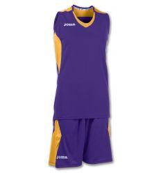 Set poliester baloncesto mujer space