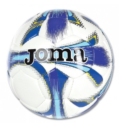 Balon futbol dali blanco-azul