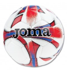 Balon futbol dali blanco-rojo