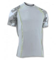 Camiseta running olimpia camuflaje