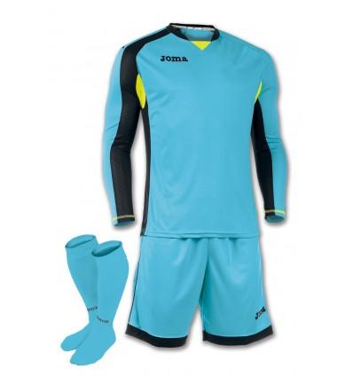 Set portero futbol zamora camiseta manga larga+pantalon corto